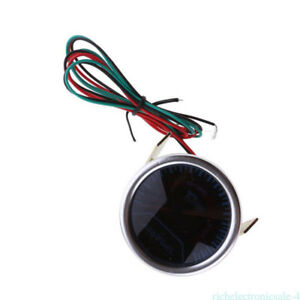 Car Truck Auto Universal 2 52mm Air Fuel Ratio Monitor Pointer White Led Gauge