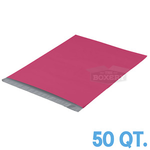 50 19x24 Pink Poly Mailers Envelopes Bags 19 X 24 2 5mil The Boxery