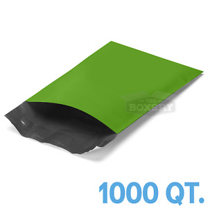 1000 6x9 Green Poly Mailers Envelopes Bags 6 X 9 2 5mil The Boxery