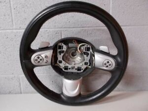 08 14 Mini Cooper S Steering Wheel With Controls Paddle Shift R56 R57