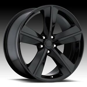 4 New 20 Wheels Rims For Dodge Challenger Charger Magnum Srt 3812