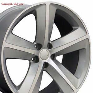 4 New 20 Wheels Rims For Dodge Challenger Charger Magnum 3813