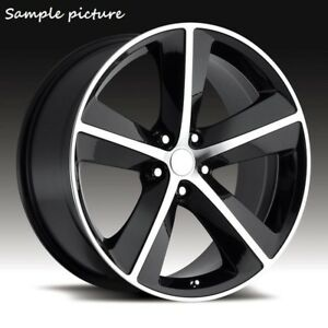 4 New 20 Wheels Rims For Dodge Challenger Charger Srt Chrysler 300 Magnum 3818