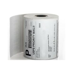 100 Rolls 250 4 x6 Zebra Eltron Direct Thermal Printer Shipping Labels Packing