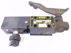 Used Parker Hydraulic Directional Control Valve D1vmr6bn1075xb101