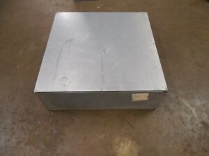 E box 24248sg 24 x24 x8 Steel Electrical Box Enclosure Gasketed Cover