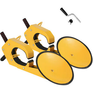 2pcs Wheel Lock Clamp Boot Parking Tire Claw Trailer Auto Car Truck Anti theft