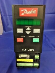 Danfoss Vlt 2800 Variable Freq Ac Drive P n 195n0049 2 7kva