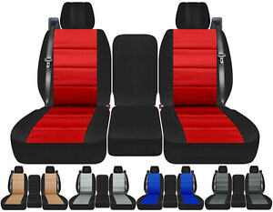 Cc 40 20 40 Cotton Two Tone Car Seat Covers Int Sb To Fit 2004 2008 Ford F 150