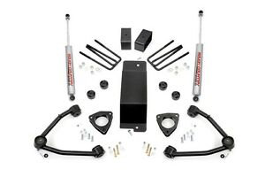 07 16 Chevrolet Gmc 1500 4wd 3 5 Rough Country Lift Kit Cast Steel 194 20