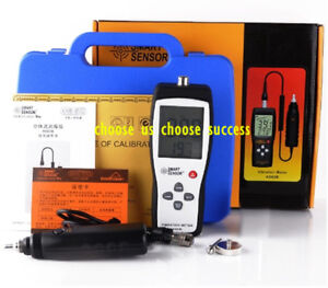 Handheld Split Type Vibration Meter 10hz 1khz With Calibration Of Certificate