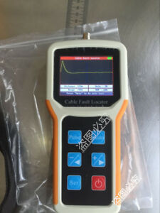Waveform Display 8km Tdr Cable Fault Locator Measure The Exact Fault Location