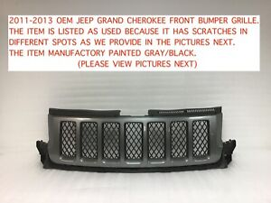 2011 2013 Oem Jeep Grand Cherokee Srt Front Grille 5nk26axrab