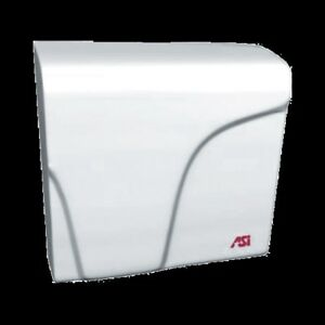 Ada Compliant Version Asi 016501 Small Compact Air Asi Hand Dryer White