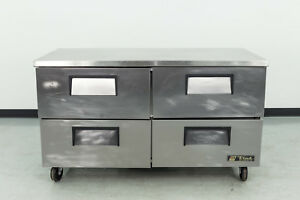 Used True Tuc 60d 4 60 4 drawer Undercounter Refrigerator