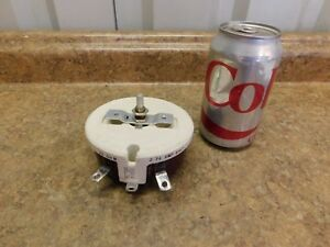 New Memcor R 150 Potentiometer 150 Watts 20 Ohms 2 74 Amps New