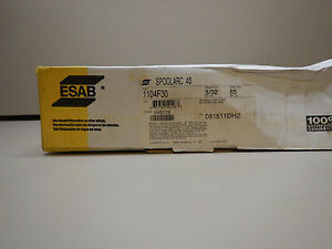 New 65 Esab Spoolarc 40 Welding Wire 3 32 Mig 70s 9 Electrode Rod Wire New