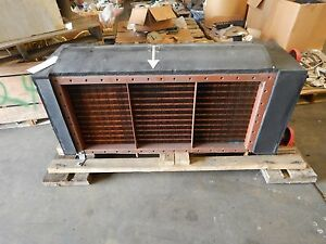 New Marlo Heat Exchanger Duct Water Cooling Coil Radiator Size 56 Type Dw Navy