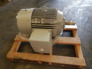 New Siemens Sd10 Electric Motor 60 Hp 44 76 Kw 364t Frame 460v 1775 Rpm New