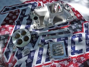 Edelbrock 29163 Efi Induction Kit Big Block Chevy Fuel Injection