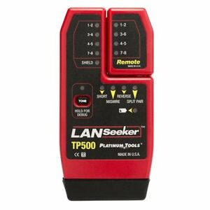 Platinum Tools Tp500c Lanseeker Cable Tester