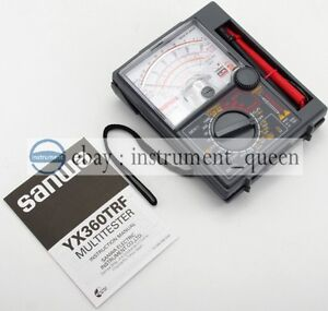 Analog Multimeter Tester Sanwa Yx360trf Portable Linear Brand New