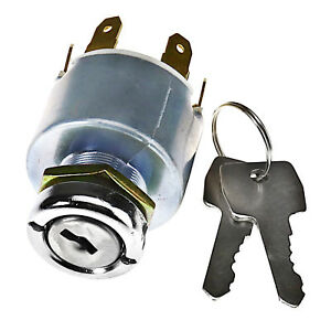 Universal Car Motorcycle Boat 12v Ignition Key Switch Barrel Kit W Keys Us