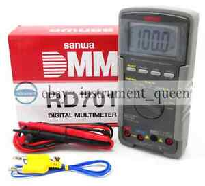 Ac True Rms Digital Multimeters Multifunctional Display 4000 Sanwa Rd701 New