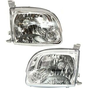 Headlight Left And Right For Toyota 2005 2006 Tundra Regular Access Cab