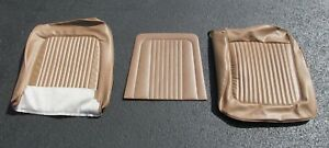 1968 Mustang Shelby New Standard Saddle Front Bucket Seat Upholstery
