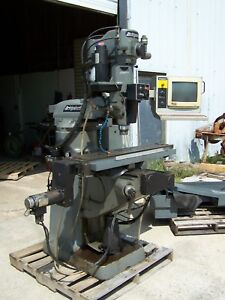 Bridgeport V2xt 3 axis Cnc Vertical Milling Machine Dx32 With Operating Manuals