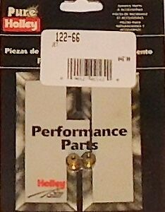 Holley Carburetor Main Jet 66 1 4 32 Thread 2 Pk 122 66 Pure Holley Perf Product