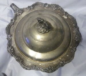Antique Silver Dome Towle Silver Plated