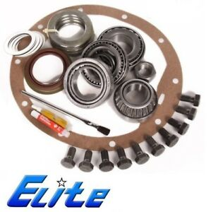1998 newer Ford Dana 80 Rearend Elite Master Install Timken Bearing Kit