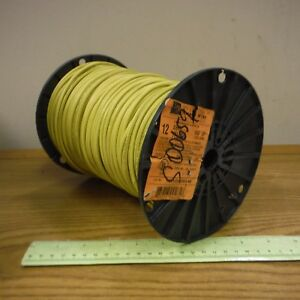Encore 600v Yellow Roll Insulated Stranded Copper Wire 450 Feet 140100806440