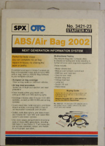 3421 23 Otc Genisys Abs Airbag 2002 New In Box Complete Starter Kit