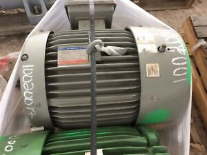 Tatung 60 Hp Electric Motor 3565 Rpm Wh0602jfb C Frame 364ts Supermax 841