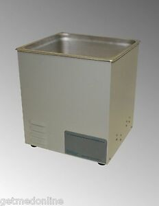 New Sonicor Stainless Steel Tabletop Ultrasonic Cleaner 3 5 Gal Capacity S 300
