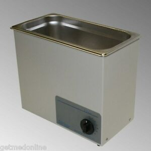 New Sonicor Stainless Steel Tabletop Ultrasonic Cleaner 2 5 Gal S 200t