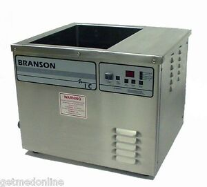 Branson 10 Gallon Integrated Ultrasonic Cleaning System Cpn 908 011