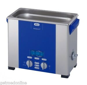 New Elma Sonic P60h 1 5 Gal Ultrasonic Cleaner Digital Control 37 And 80khz