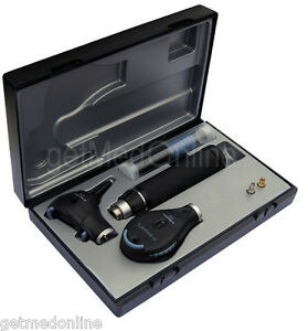 Riester Ri scope Otoscope Opthalmoscope C Handles Lithium Ion Battery 3746 004