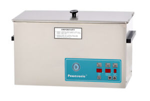 Crest Powersonic 2 5 Gal Digital Ultrasonic Cleaner 45khz Sweep P1200d 45
