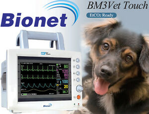 New Bionet Bm3 Vet Touch Multiparameter Veterinary Monitor W touch Screen