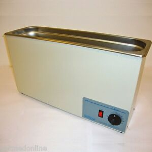 New Sonicor Stainless Steel Ultrasonic Cleaner W heat Timer 2 5 Gal S 211th