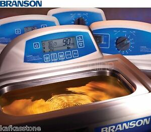 New Branson M1800h Ultrasonic Bath 0 5 Gal 6 5 X 5 5 X 4 Cpx 952 117r