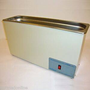 New Sonicor Stainless Steel Heated Ultrasonic Cleaner 2 5 Gal Capacity S 211h