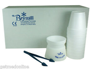 New Brymill Cryo Tweezers With Delrin Cup Holder And 10 X Foam