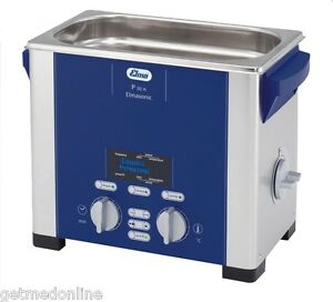 New Elma Sonic P30h 0 75 Gal Ultrasonic Cleaner Digital Control 37 And 80khz