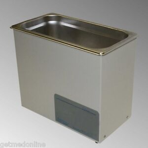 New Sonicor Stainless Steel Tabletop Ultrasonic Cleaner 2 5 Gal Capacity S 200